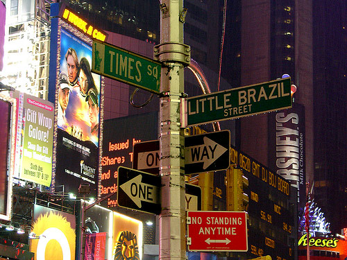 Little Brazil in New York City