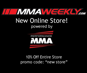 MMAWeekly and Performance MMA Store