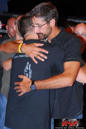 Sven Bean and Dr. Alex Constantinides at Ring of Fire 41