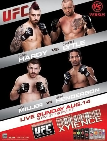UFC on Versus 5 Hardy vs Lytle Poster
