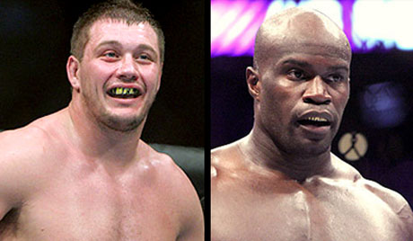 Matt Mitrione and Cheick Kongo