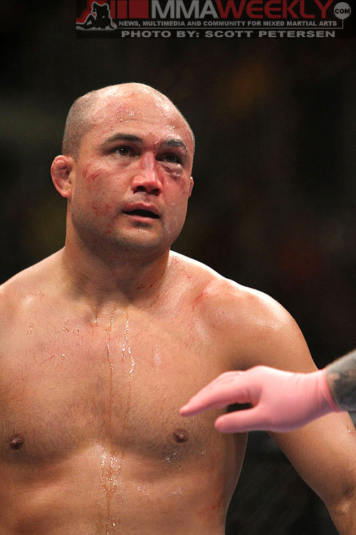 BJ Penn at UFC 137