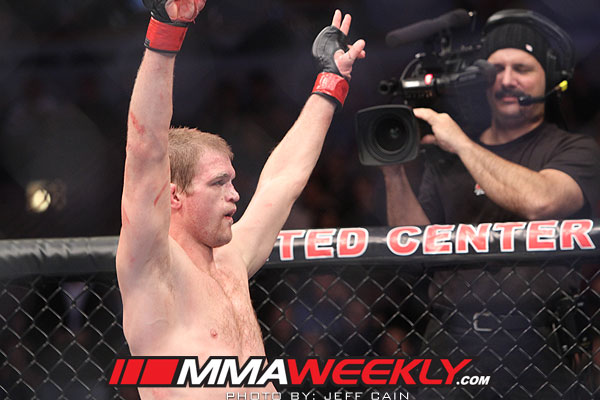 Evan Dunham at UFC on Fox