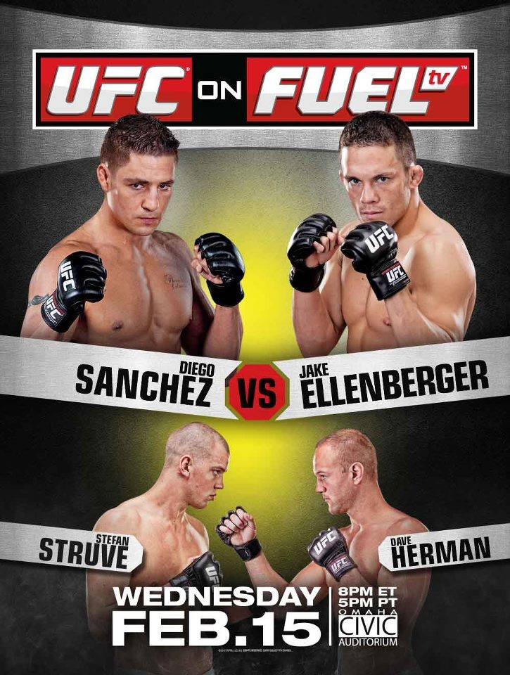 UFC on FUEL TV 1 poster