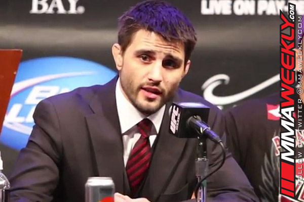 Carlos Condit at UFC 143 press conference