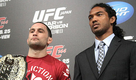 Frankie Edgar and Benson Henderson UFC 144