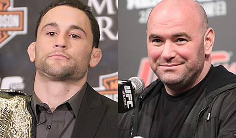 Frankie Edgar and Dana White UFC