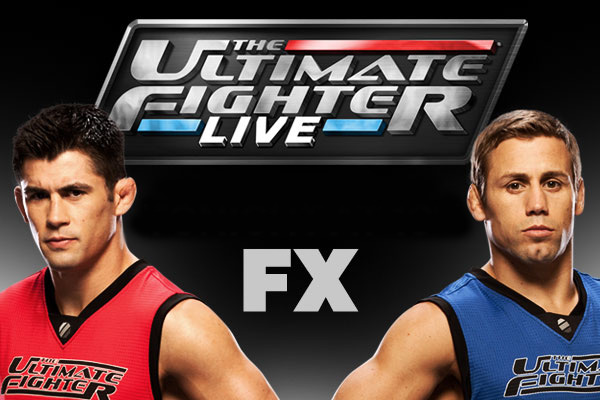 TUF Live Coaches Logo Dominick Cruz and Urijah Faber