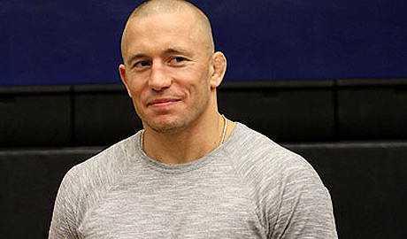Georges St-Pierre at UFC 145