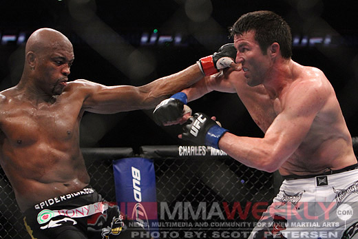 Anderson Silva vs. Chael Sonnen at UFC 117