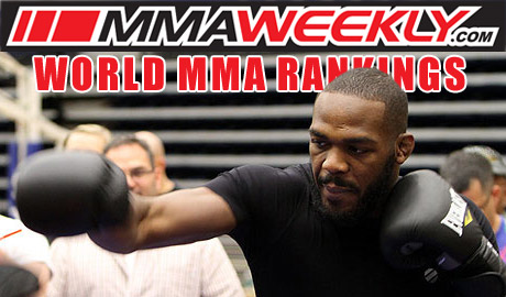 MMA Rankings Update Jon Jones