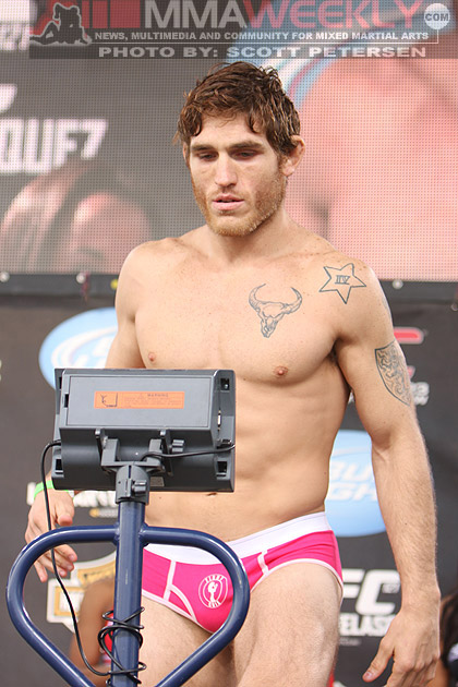 Tom Lawlor at UFC 121
