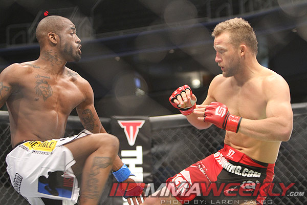 Bobby Green and James Terry at Strikeforce