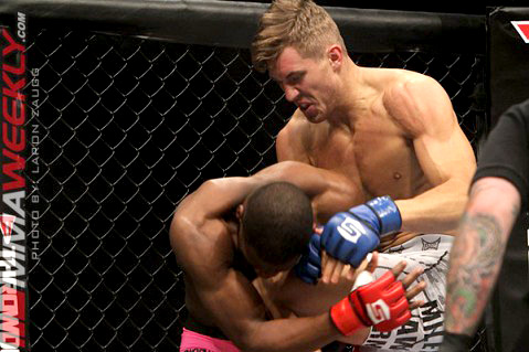 Chris Spang vs Nah Shon Burrell at Strikeforce