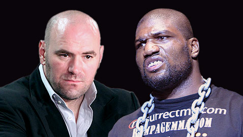 Dana White and Rampage Jackson