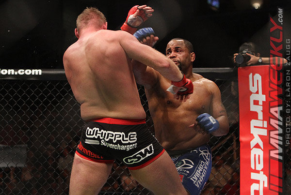 Daniel Cormier and Josh Barnett Strikeforce