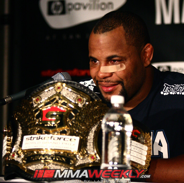 Daniel Cormier - Strikeforce Grand Prix Champion