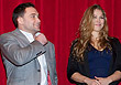 Frankie Edgar and Ronda Rousey on UFC trip to Bronx Academy of Letters
