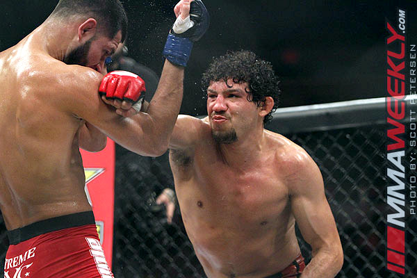 Gilbert Melendez vs. Jorge Masvidal at Strikeforce