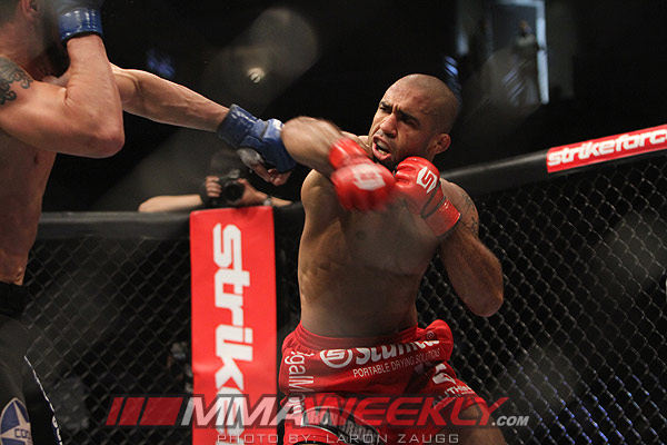 Isaac Vallie-Flagg and JZ Cavalcante at Strikeforce