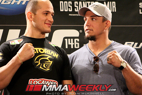 Junior dos Santos and Frank Mir UFC 146