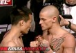 Korean Zombie and Dustin Poirier at the UFC on Fuel TV 3 weigh-ins