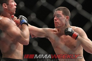 Nate Diaz at UFC 141