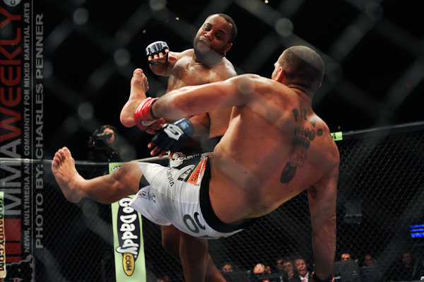 Daniel Cormier and Antonio Silva Strikeforce