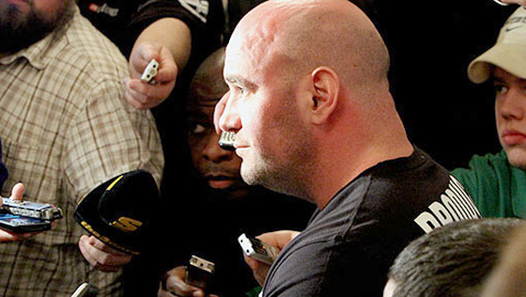 Dana White at UFC on Fox 2