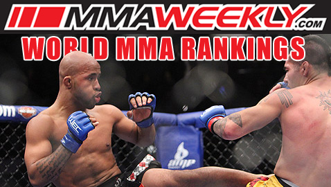 MMA World Top 10 Rankings - Demetrious Mighty Mouse Johnson