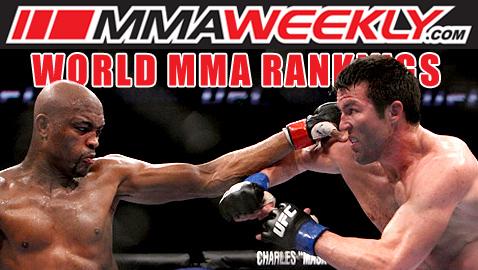 MMA Top 10 Rankings Update - Anderson Silva and Chael Sonnen