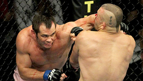 Rich Franklin at UFC 115