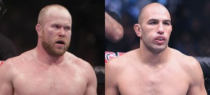 Tim Boetsch and Brandon Vera