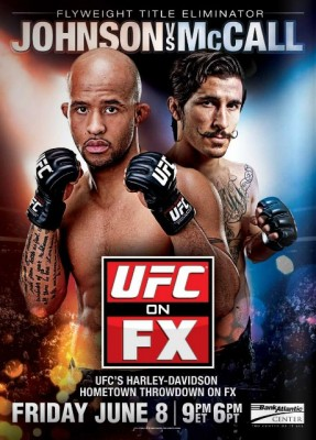 UFC on FX 3 poster