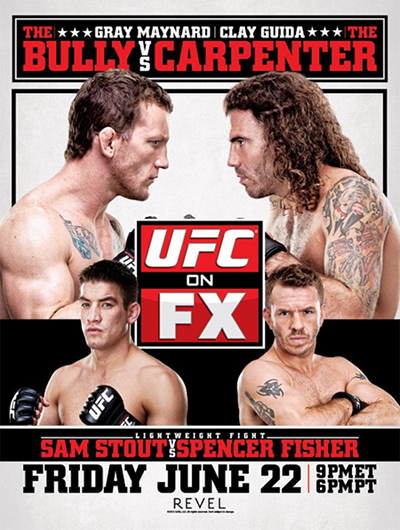 UFC on FX 4 poster
