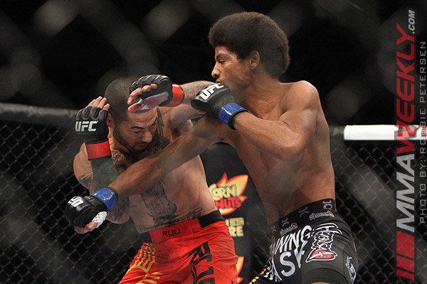 Alex Caceres and Damacio Page at UFC on Fuel TV 4