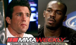 Chael Sonnen and Jon Jones UFC
