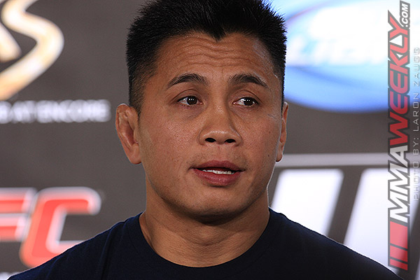 Cung Le at the UFC 148 press conference