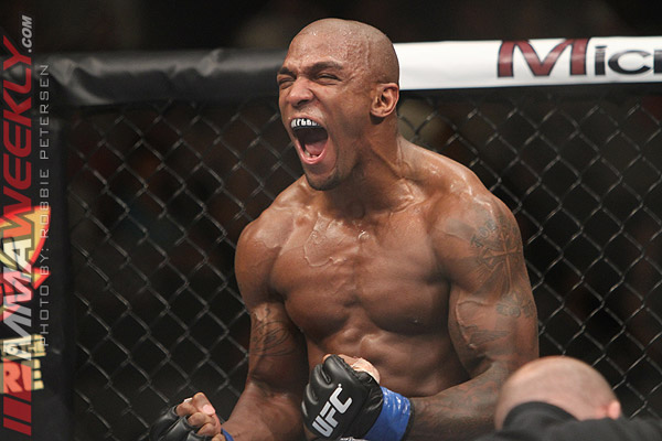 Francis Carmont at UFC on Fuel TV 4