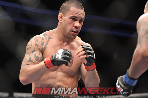 James TeHuna at UFC on Fuel TV 4