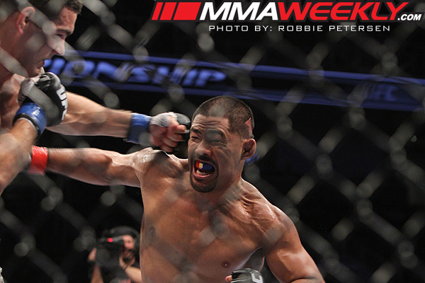 Mark Munoz vs Chris Weidman at UFC on Fuel TV 4