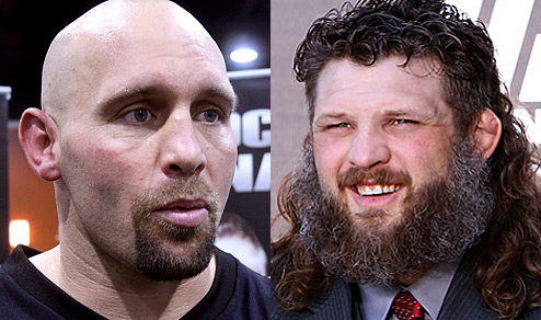 Shane Carwin and Roy Nelson