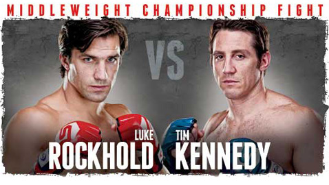 Strikeforce Rockhold vs. Kennedy