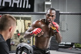 Strikeforce Middleweight Derek Brunson by Will Fox