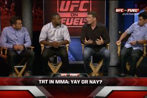 Great TRT Debate - UFC Tonight