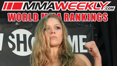 MMA Top 10 Rankings - Ronda Rousey