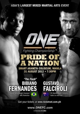 One FC 5 Pride of a Nation Poster