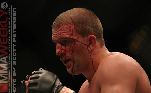 Travis Lutter at UFC 54