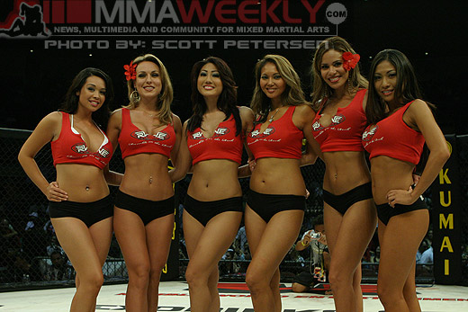 Rumble on the Rock Ringgirls
