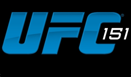 UFC 151 blue logo on black 460x270